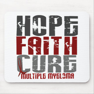Multiple Myeloma HOPE FAITH CURE 1 Mouse Mat