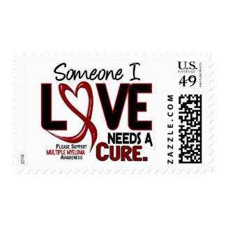 Multiple Myeloma HOPE FAITH CURE 1 Stamp