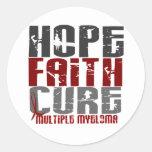 Multiple Myeloma HOPE FAITH CURE 1 Sticker