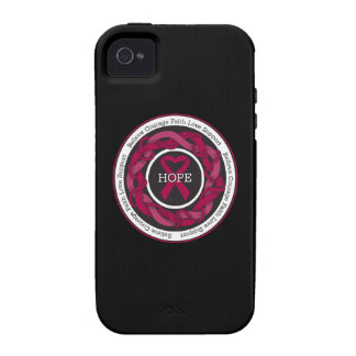Multiple Myeloma Hope Intertwined Ribbon iPhone 4/4S Cases