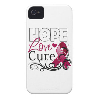 Multiple Myeloma Hope Love Cure iPhone 4 Covers