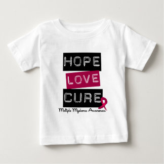 Multiple Myeloma Hope Love Cure T Shirts