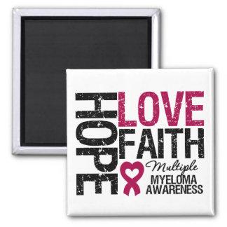 Multiple Myeloma Hope Love Faith Magnet