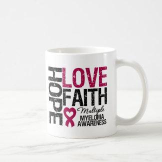 Multiple Myeloma Hope Love Faith Mugs