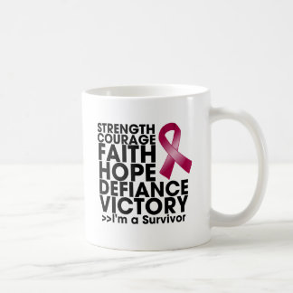 Multiple Myeloma Hope Strength Victory Coffee Mugs
