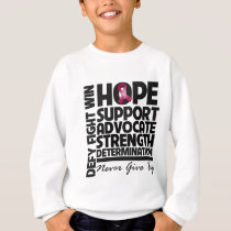 Multiple Myeloma Hope Support Advocate Sweatshirt