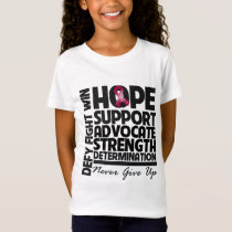 Multiple Myeloma Hope Support Advocate T-Shirt