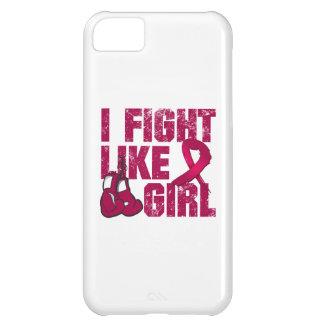 Multiple Myeloma I Fight Like A Girl (Grunge) iPhone 5C Cases
