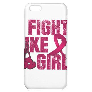 Multiple Myeloma I Fight Like A Girl (Grunge) iPhone 5C Case