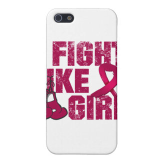 Multiple Myeloma I Fight Like A Girl (Grunge) Cover For iPhone 5
