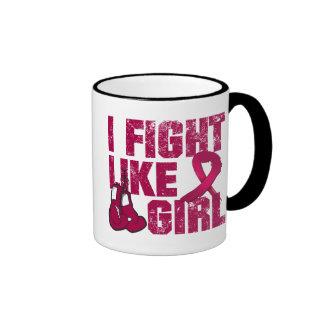 Multiple Myeloma I Fight Like A Girl (Grunge) Mug