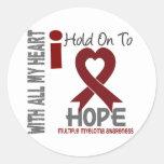 Multiple Myeloma I Hold On To Hope Sticker