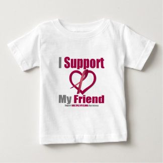 Multiple Myeloma I Support My Friend T-shirts
