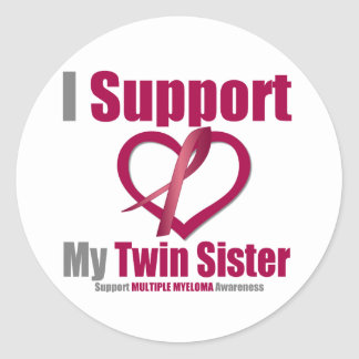Multiple Myeloma I Support My Twin Sister Sticker