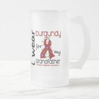 Multiple Myeloma I WEAR BURGUNDY FOR GRANDFATHER Coffee Mug