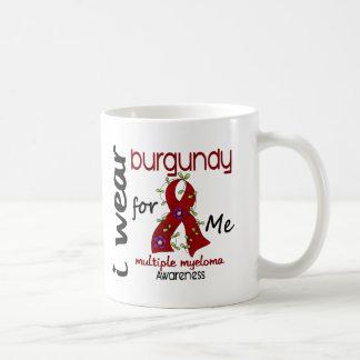 Multiple Myeloma I WEAR BURGUNDY FOR ME 43 Coffee Mug