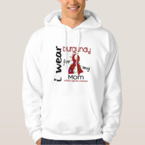 Multiple Myeloma I WEAR BURGUNDY FOR MY MOM 43 Hoodie