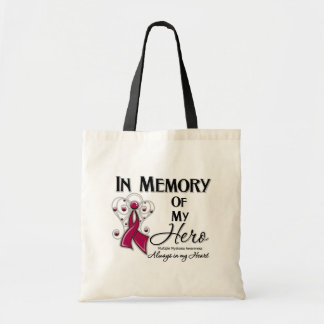 Multiple Myeloma  In Memory of My Hero Budget Tote Bag