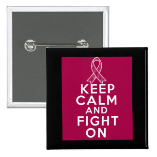 Multiple Myeloma Keep Calm and Fight On Pins
