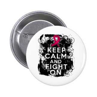 Multiple Myeloma Keep Calm and Fight On Pin