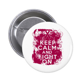 Multiple Myeloma Keep Calm and Fight On Buttons