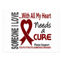 Multiple Myeloma Needs A Cure 3 Postcard