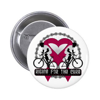 Multiple Myeloma Riding For The Cure Pinback Buttons
