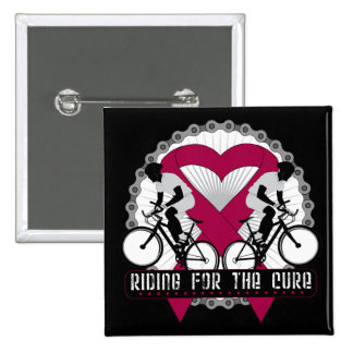 Multiple Myeloma Riding For The Cure Pinback Button