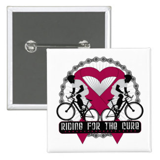 Multiple Myeloma Riding For The Cure Button