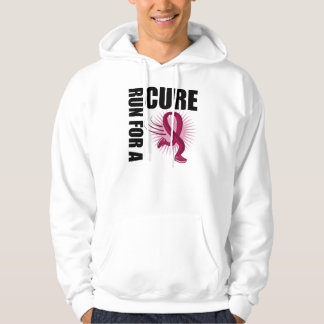 Multiple Myeloma Run For A Cure Hooded Sweatshirts