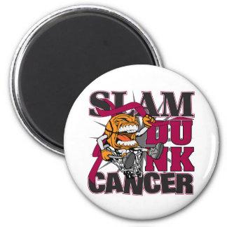 Multiple Myeloma - Slam Dunk Cancer Fridge Magnet