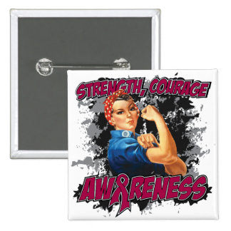 Multiple Myeloma Strength Courage 2 Inch Square Button