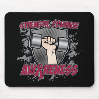 Multiple Myeloma Strength Courage Men Mousepads