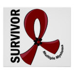 Multiple Myeloma Survivor 12 Poster