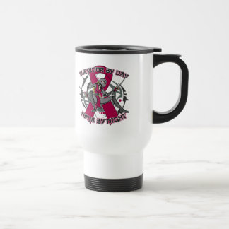 Multiple Myeloma Survivor By Day Ninja By Night Coffee Mugs