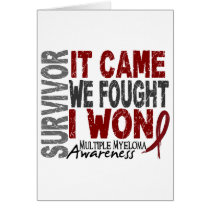 Multiple Myeloma Survivor It Came We Fought I Won