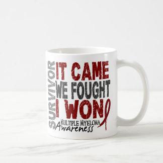 Multiple Myeloma Survivor It Came We Fought I Won Classic White Coffee Mug