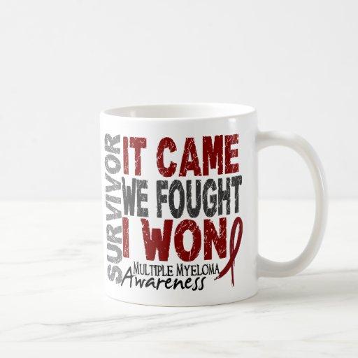 Multiple Myeloma Survivor It Came We Fought I Won Mug