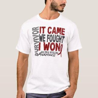 Multiple Myeloma Survivor It Came We Fought I Won T-Shirt