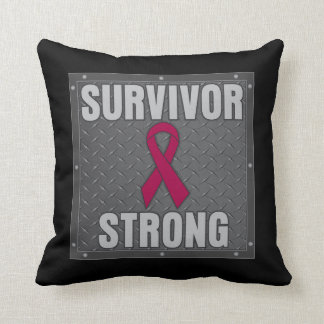 Multiple Myeloma Survivor Strong Pillow