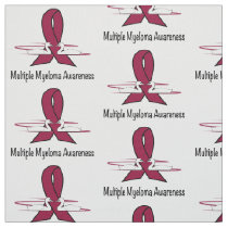 Multiple Myeloma Swans of Love and Hope Fabric