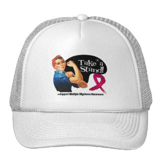 Multiple Myeloma Take a Stand Trucker Hat