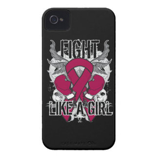 Multiple Myeloma Ultra Fight Like A Girl Case-Mate iPhone 4 Cases