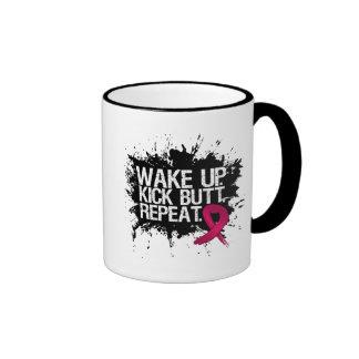 Multiple Myeloma Wake Up Kick Butt Repeat Mug