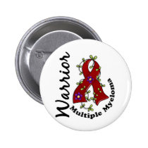 Multiple Myeloma Warrior 15 Pinback Button