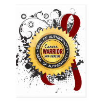 Multiple Myeloma Warrior 23 Postcard