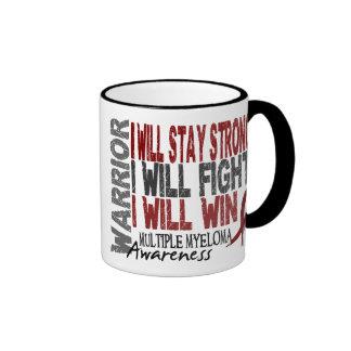 Multiple Myeloma Warrior Ringer Mug