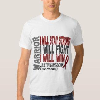 Multiple Myeloma Warrior T Shirt