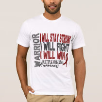 Multiple Myeloma Warrior T-Shirt