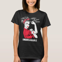 Multiple Myeloma Warrior Unbreakable T-Shirt